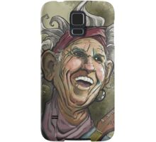 Keith Richards of the Rolling Stones Samsung Galaxy Case/Skin