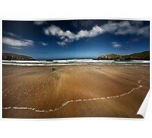 Camas na Clibhe - Isle of Lewis, Scottish Hebrides Poster