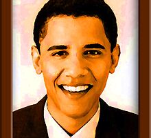Barack Obama Color by ShopBarack