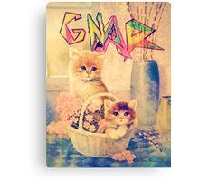 Gnar Kittens Canvas Print