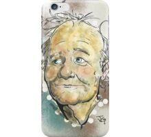 Bill Murray Portrait iPhone Case/Skin