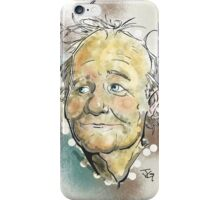 Bill Murray Portrait iPhone Case/Skin