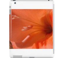 Peach Gladiolus iPad Case/Skin