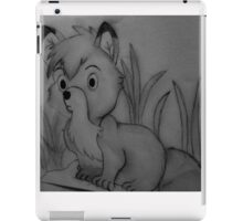 The Baby Fox Known As Tod  iPad Case/Skin