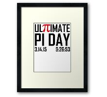 Ultimate Pi Day Framed Print