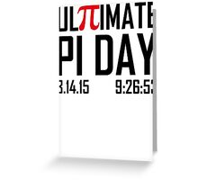 Ultimate Pi Day Greeting Card