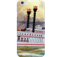 The Robert E Lee Paddle Wheeler 1866 - all products iPhone Case/Skin