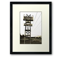 Road Home Framed Print