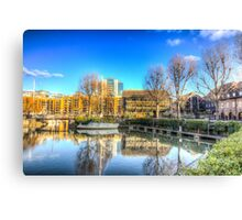 St Katherines Dock London Canvas Print