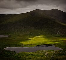 Conor Pass, Dingle by Peter Dybowski