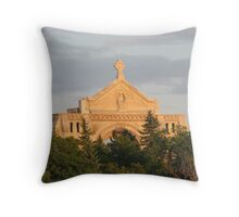 St. Boniface Cathedral Winnipeg Throw Pillow