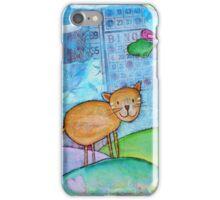 Cat and a Bird iPhone Case/Skin