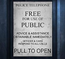 Police Call Box by Mekenzie Price