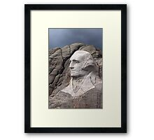 George Washington, Mount Rushmore National Memorial .2 Framed Print