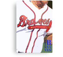 Atlanta Braves 2 Canvas Print
