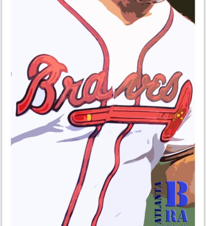Atlanta Braves 2 Sticker