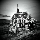 Haunted Halloween House by karenlynda