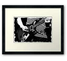 guitar solo 3 Framed Print
