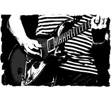 guitar solo 3 Photographic Print
