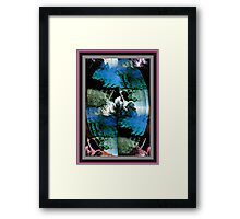Mirror To The Past Framed Print