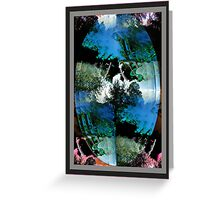 Mirror To The Past Greeting Card