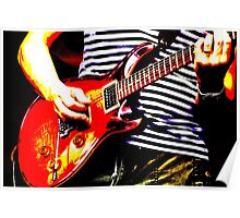 Guitar solo 4 Poster