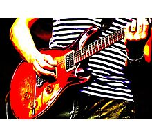 Guitar solo 4 Photographic Print