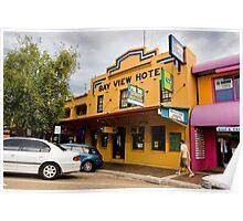 Bay View Hotel Batemans Bay Poster