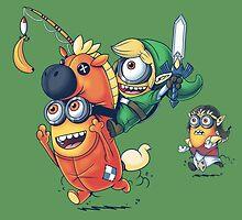 Legend of Minion by KindaCreative