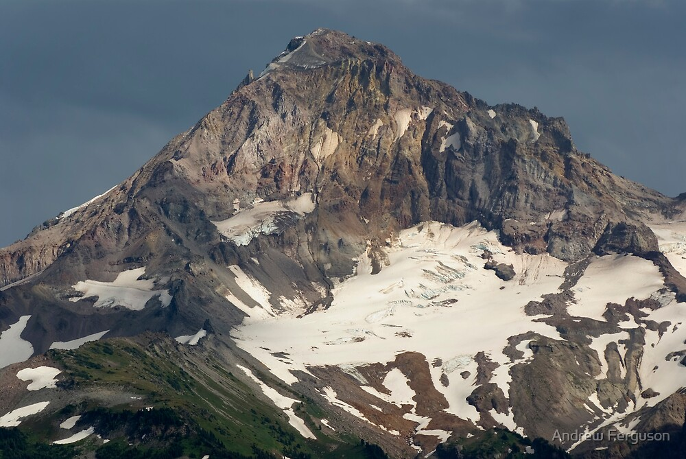 Mount Hood Peak. by Andrew Ferguson
