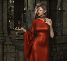 Mistres of Potions - Red by AelarethElennar