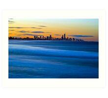 Gold Coast - Early Evening Art Print