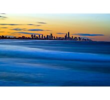 Gold Coast - Early Evening Photographic Print