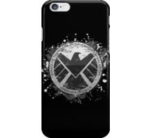 S.H.I.E.L.D Emblem (black background) iPhone Case/Skin
