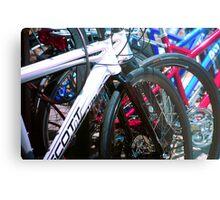 Bicycle shapes Metal Print