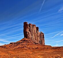 Monument Valley Red Rock formation by robemkeefe