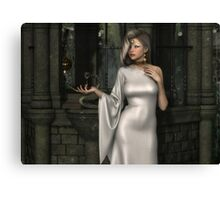 Mistres of Potions - White Canvas Print