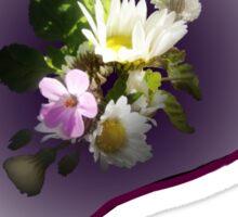 wildflower, Best Mum EVER! heart  Sticker