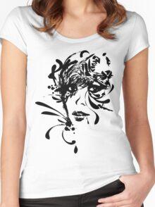 TIGIRL Women's Fitted Scoop T-Shirt