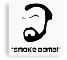 Smoke Bomb  Canvas Print