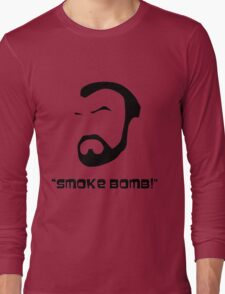 Smoke Bomb  Long Sleeve T-Shirt