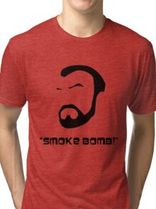 Smoke Bomb  Tri-blend T-Shirt