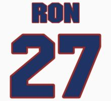 National football player Ron Bolton jersey 27 by imsport