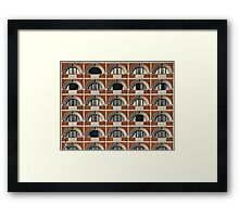 Window Geometry Framed Print
