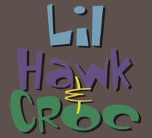 Lil Hawk & Croc stacked Logo by psychoandy