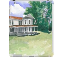 Empty House, Forest Street iPad Case/Skin
