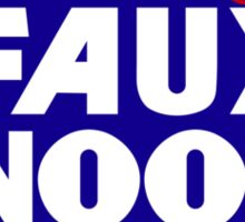 FAUX NEWS by Tai's Tees Sticker