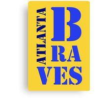 Atlanta Braves 5 Canvas Print