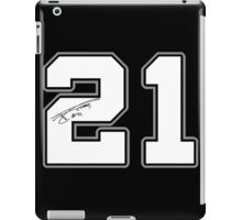 TD #21 iPad Case/Skin