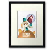 Jeff - Beyond Gravity Framed Print